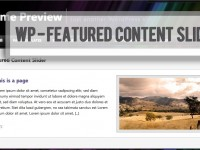 Featured Content Slide Plugin